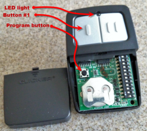 Programming the er Garage Door Opener Remote